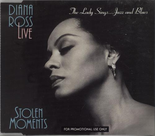 "Diana Ross Live - Stolen Moments Sampler - The Lady Sings... Jazz And CD single (CD5 / 5"") UK DIAC5LI16294"