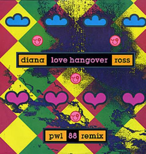 "Diana Ross Love Hangover 12"" vinyl single (12 inch record / Maxi-single) UK DIA12LO19979"