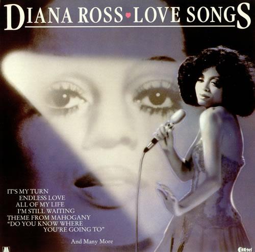 Diana Ross Love Songs vinyl LP album (LP record) UK DIALPLO497992