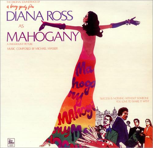 Diana Ross Mahogany - Factory Sample vinyl LP album (LP record) UK DIALPMA446907