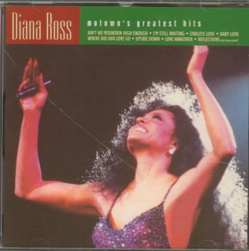 Diana Ross Motown's Greatest Hits CD album (CDLP) UK DIACDMO672348