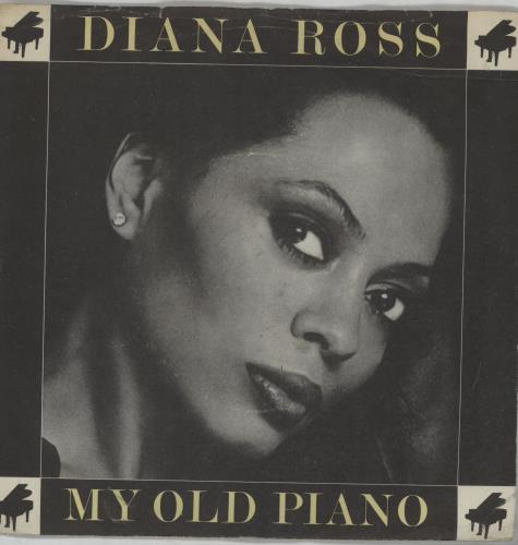 """Diana Ross My Old Piano - P/S 7"""" vinyl single (7 inch record) UK DIA07MY328803"""