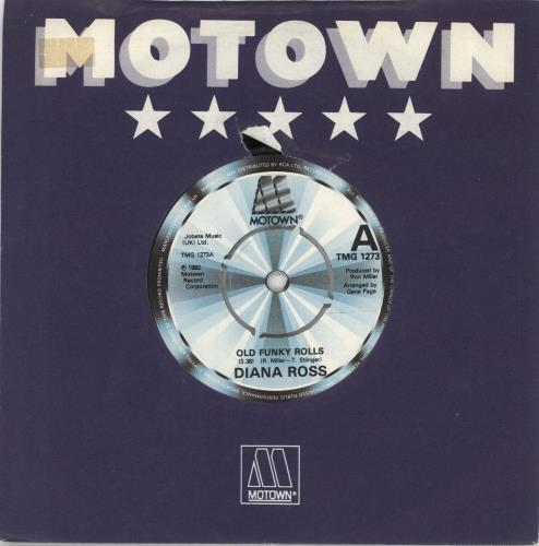 "Diana Ross Old Funky Rolls 7"" vinyl single (7 inch record) UK DIA07OL704660"