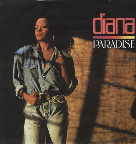 """Diana Ross Paradise - Poster Sleeve 12"""" vinyl single (12 inch record / Maxi-single) UK DIA12PA19978"""