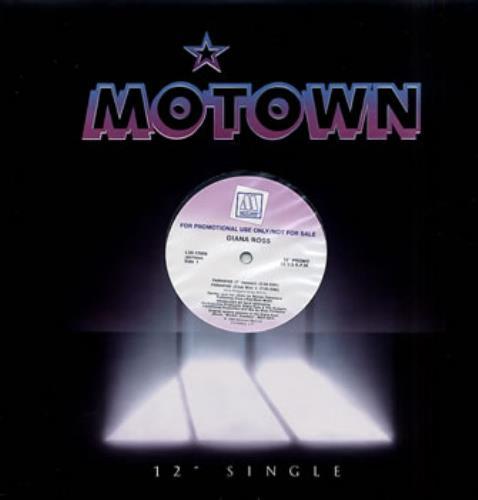 """Diana Ross Paradise 12"""" vinyl single (12 inch record / Maxi-single) US DIA12PA38428"""