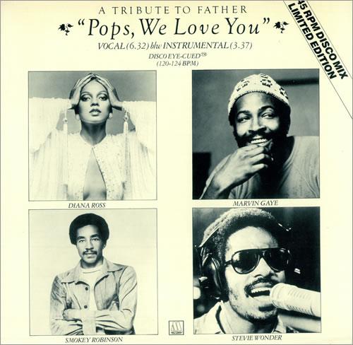 "Diana Ross Pops We Love You - Disco Eye-Cued 12"" vinyl single (12 inch record / Maxi-single) UK DIA12PO44057"