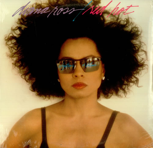 Diana Ross Red Hot Rhythm & Blue vinyl LP album (LP record) US DIALPRE453110