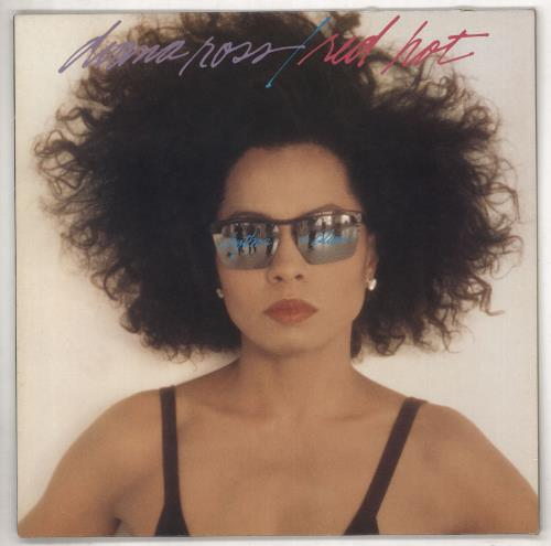 Diana Ross Red Hot Rhythm And Blue - Promo stickered vinyl LP album (LP record) UK DIALPRE737799