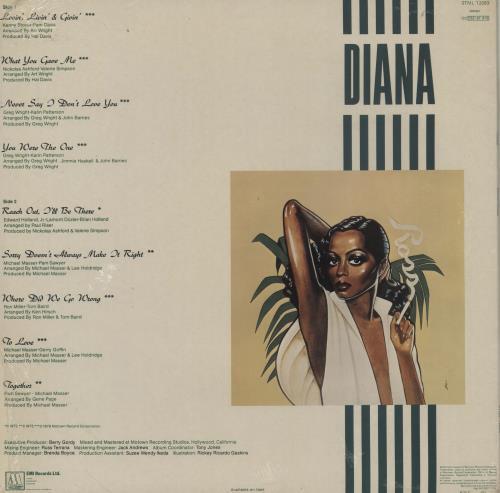 Diana Ross Ross - Sealed vinyl LP album (LP record) UK DIALPRO758359