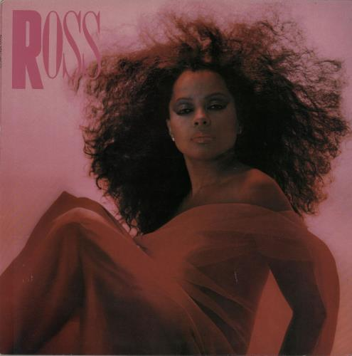 Diana Ross Ross vinyl LP album (LP record) UK DIALPRO111094