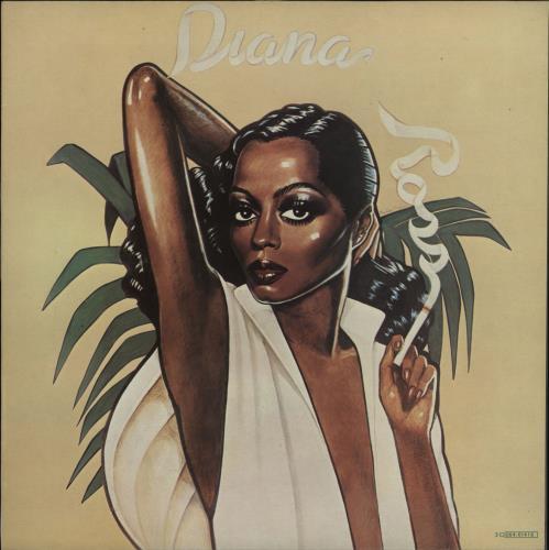 Diana Ross Ross vinyl LP album (LP record) Italian DIALPRO723283