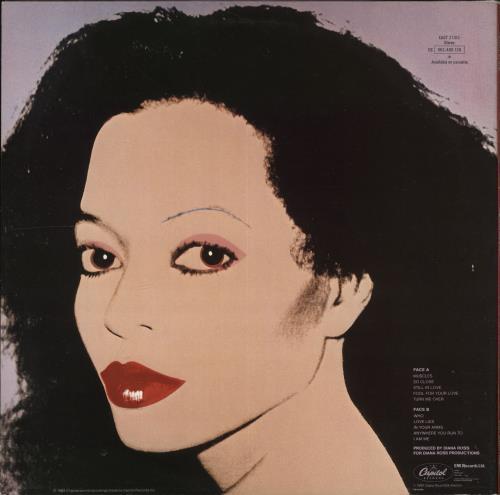 Diana Ross Silk Electric - Title Stickered vinyl LP album (LP record) UK DIALPSI705919