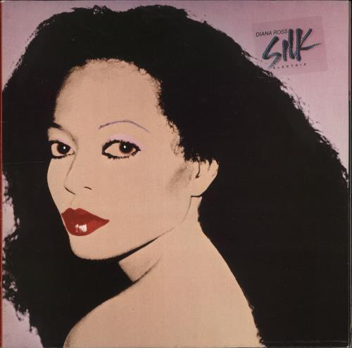 Diana Ross Silk Electric vinyl LP album (LP record) UK DIALPSI705919