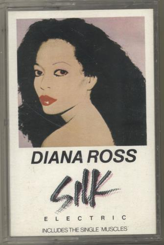 Diana Ross Silk cassette single UK DIACSSI701103