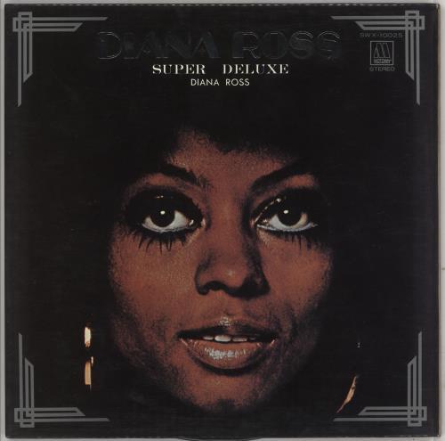 Diana Ross Super Deluxe vinyl LP album (LP record) Japanese DIALPSU745927