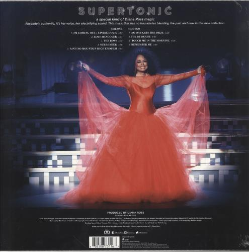 Diana Ross Supertonic: Mixes - Clear Vinyl - Sealed vinyl LP album (LP record) UK DIALPSU749856