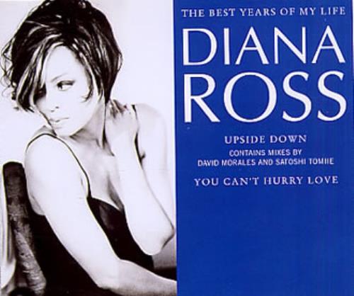 "Diana Ross The Best Years Of My Life CD single (CD5 / 5"") UK DIAC5TH27724"
