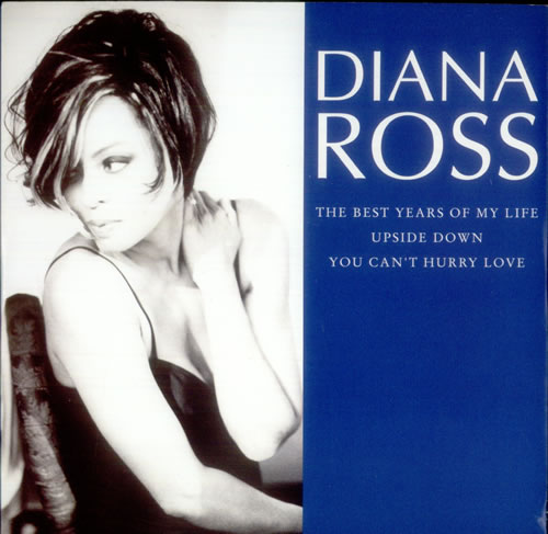 """Diana Ross The Best Years Of My Life 7"""" vinyl single (7 inch record) UK DIA07TH99323"""