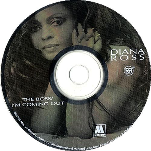 "Diana Ross The Boss / I'm Coming Out CD single (CD5 / 5"") US DIAC5TH96834"