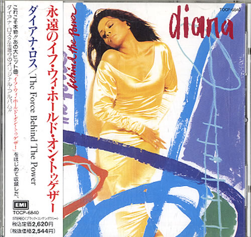 Diana Ross The Force Behind The Power CD album (CDLP) Japanese DIACDTH151666