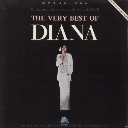 Diana Ross The Very Best of Diana Ross 2-LP vinyl record set (Double Album) UK DIA2LTH238643