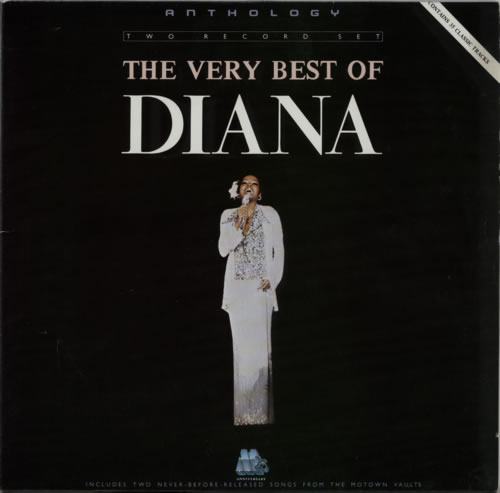 Diana Ross The Very Best of Diana Ross 2-LP vinyl record set (Double Album) German DIA2LTH600014