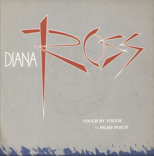 "Diana Ross Touch By Touch - Factory Sample 7"" vinyl single (7 inch record) UK DIA07TO739807"