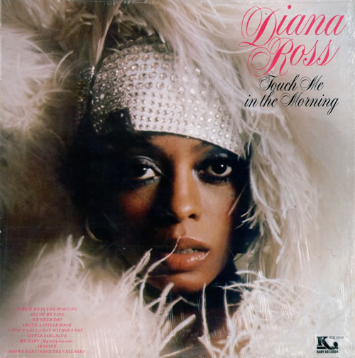 Diana Ross Touch Me In The Morning vinyl LP album (LP record) US DIALPTO478064