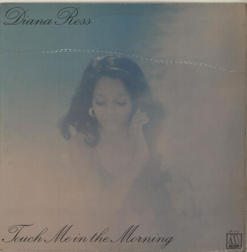 Diana Ross Touch Me In The Morning vinyl LP album (LP record) Italian DIALPTO686821