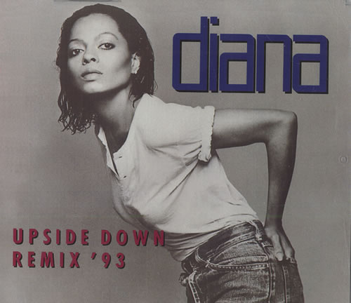 "Diana Ross Upside Down '93 CD single (CD5 / 5"") German DIAC5UP12751"