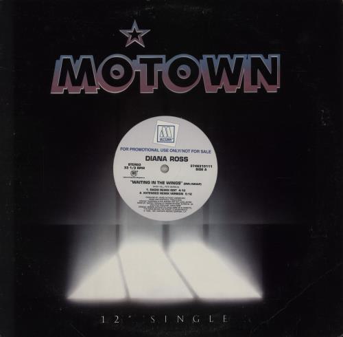 "Diana Ross Waiting In The Wings 12"" vinyl single (12 inch record / Maxi-single) US DIA12WA23752"