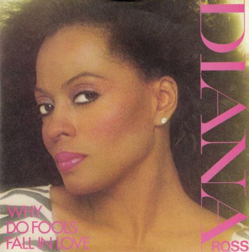 """Diana Ross Why Do Fools Fall In Love - 4pr 7"""" vinyl single (7 inch record) UK DIA07WH643655"""