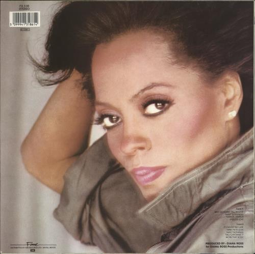 Diana Ross Why Do Fools Fall In Love vinyl LP album (LP record) UK DIALPWH712123