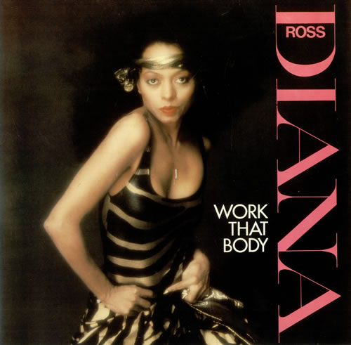 "Diana Ross Work That Body 12"" vinyl single (12 inch record / Maxi-single) UK DIA12WO51855"
