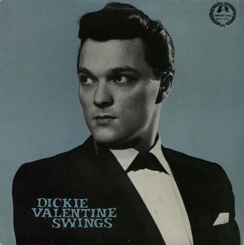 "Dickie Valentine Dickie Valentine Swings EP 7"" vinyl single (7 inch record) UK VLT07DI366640"