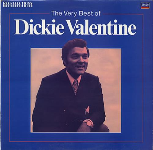 Dickie Valentine The Very Best Of Dickie Valentine vinyl LP album (LP record) UK VLTLPTH382706