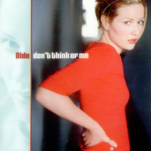 "Dido Don't Think Of Me CD single (CD5 / 5"") US ODIC5DO169223"