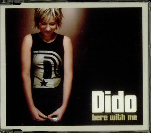 "Dido Here With Me CD single (CD5 / 5"") UK ODIC5HE177777"