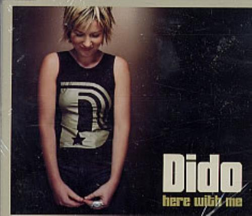 "Dido Here With Me CD single (CD5 / 5"") German ODIC5HE234113"
