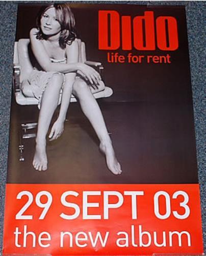Dido Life For Rent poster UK ODIPOLI269651