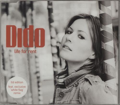 """Dido Life For Rent CD single (CD5 / 5"""") UK ODIC5LI681611"""