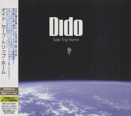 Dido Safe Trip Home CD album (CDLP) Japanese ODICDSA450819
