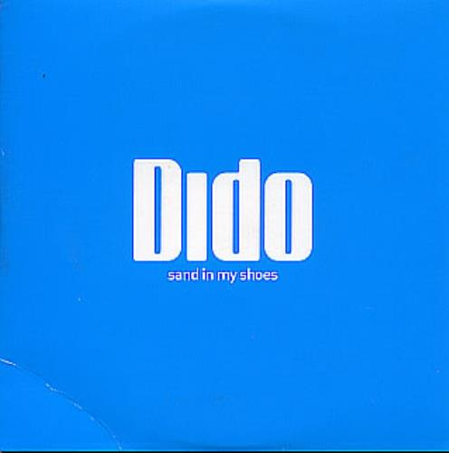 "Dido Sand In My Shoes CD single (CD5 / 5"") UK ODIC5SA293898"