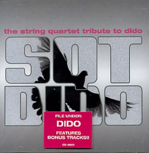Dido The String Quartet Tribute To Dido CD album (CDLP) US ODICDTH299536