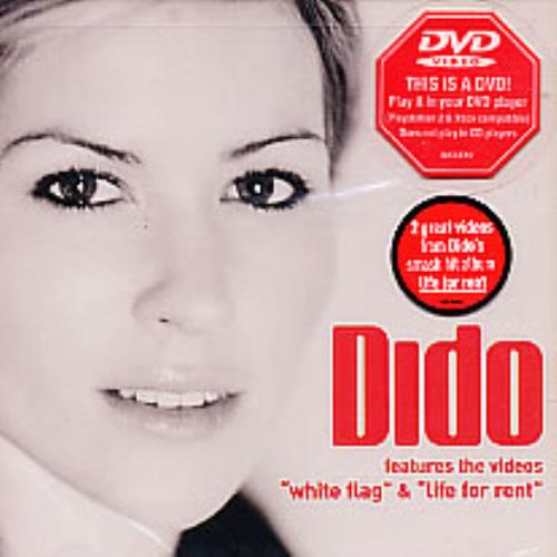 Dido White Flag / Life For Rent DVD Single US ODIDSWH275396