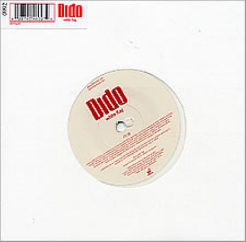 "Dido White Flag 7"" vinyl single (7 inch record) UK ODI07WH257058"