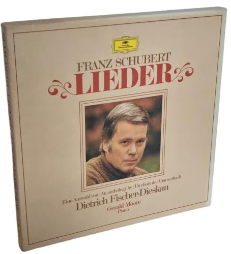 Dietrich Fischer-Dieskau & Gerald Moore Franz Schubert: Lieder Vinyl Box Set German 3KMVXFR771149