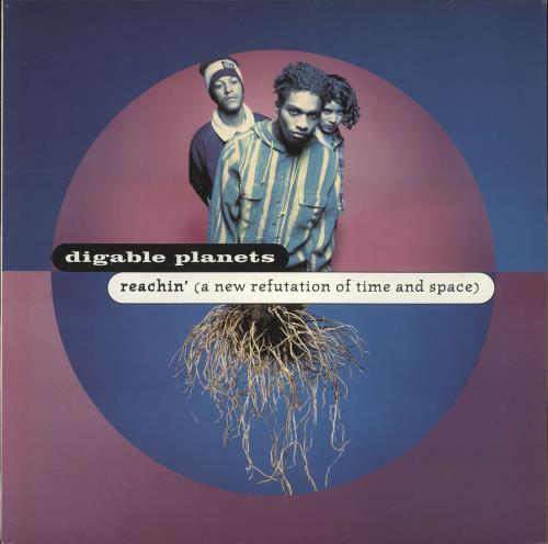Digable Planets Reachin' (A New Refutation Of Time And Space) vinyl LP album (LP record) UK Y6MLPRE710687