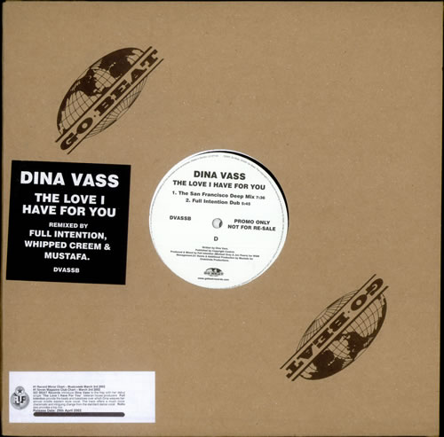 Dina Vass The Love I Have For You 2-LP vinyl record set (Double Album) UK Q7N2LTH510368
