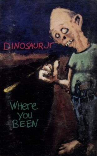 Dinosaur Jr Where You Been & Without A Sound cassette album UK DJRCLWH702919